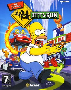 The Simpsons Hit and Run. The Simpsons Hit and Run is another game in the long line of Simpson games. Hit and Run borrows many elements of GTA and its gameplay relies heavily on vehicles. (Theleftorium, 17/12/08).