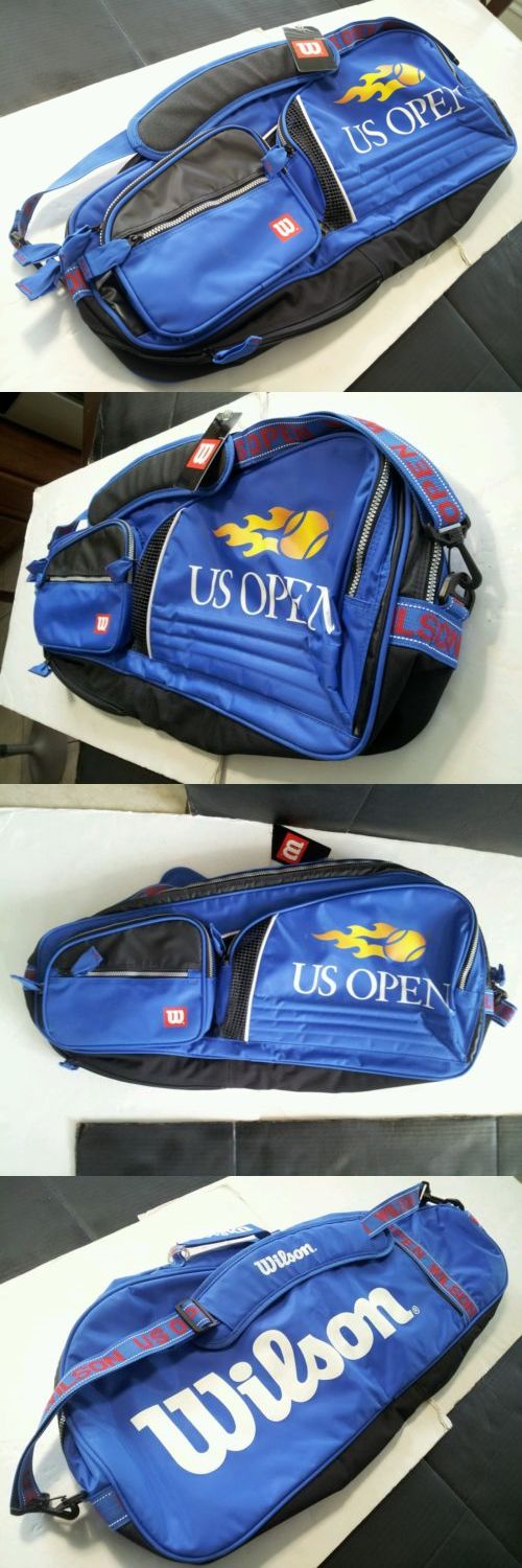 Bags 20869: Wilson Tennis Racket Bag / Wilson U.S. Open Tennis Bag / 4-6 Tennis Racket Bag BUY IT NOW ONLY: $45.0
