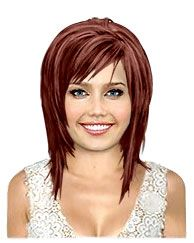 long hairstyle highlights two tone brown red | Same Cut Different Color : Hair Color | TheHairStyler.com