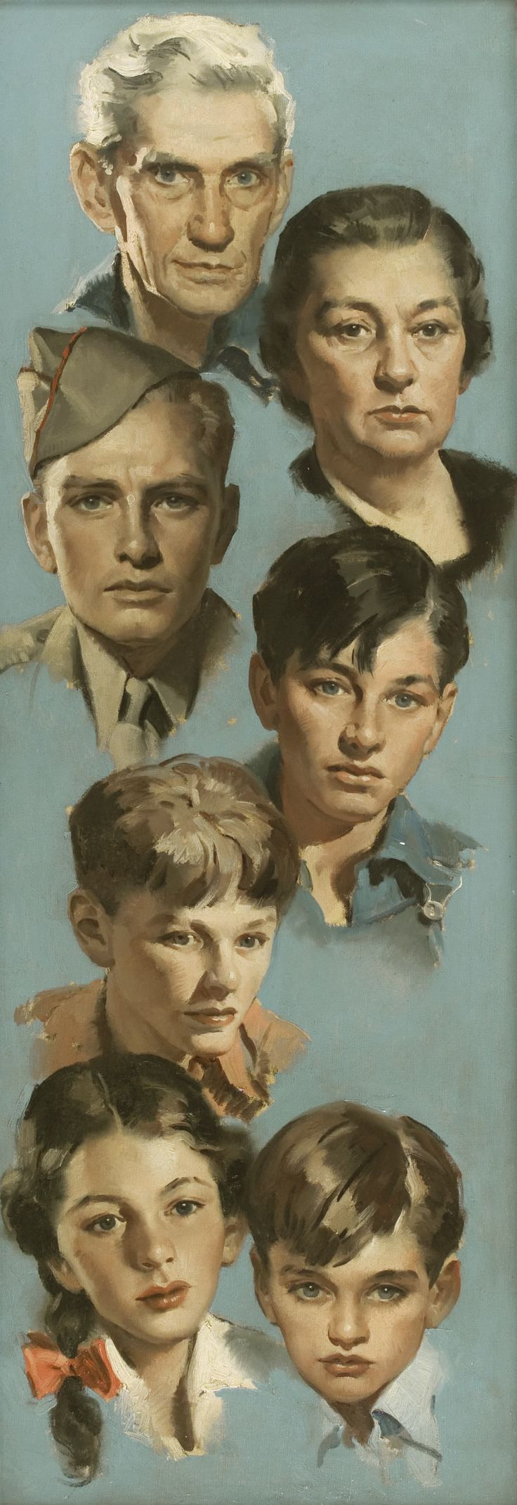 Andrew Loomis - A soldier's family