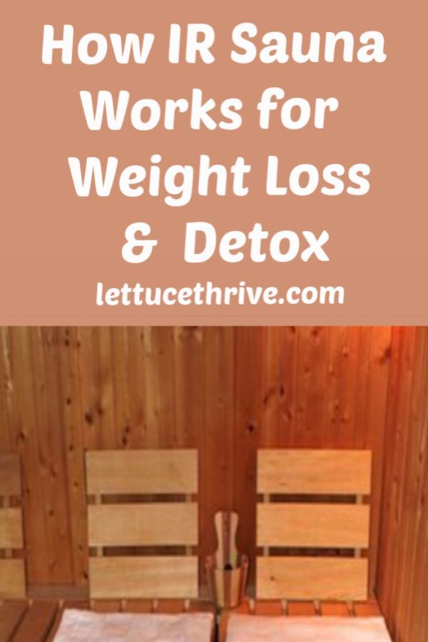 Infrared Sauna Weight Loss Before And After : infrared, sauna, weight, before, after, Healthy, Living