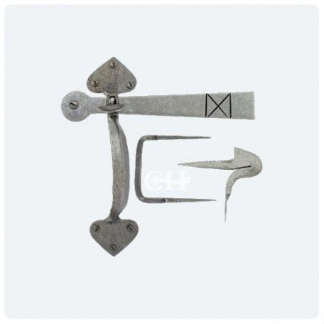 From The Anvil 33638 Pewter Thumb Latches or Suffolk Latches from Cheshire Hardware | Door handles & door accessories | Cheshire Hardware