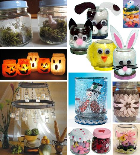 Craft Ideas Empty Jam Jars: 1000+ Images About Baby Food Jar Crafts On Pinterest