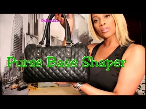 Purse Shaper for A Buck! - YouTube