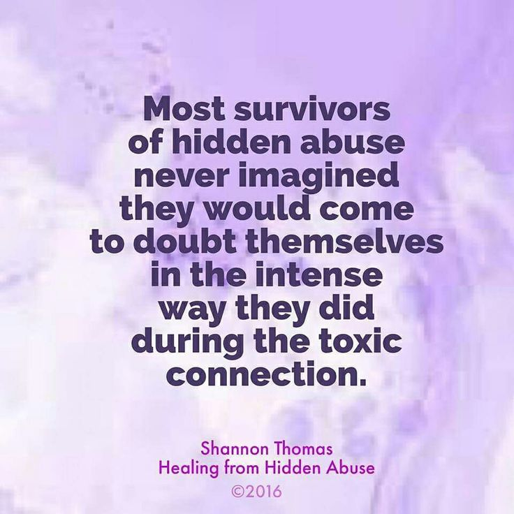 "Intense self-doubt because psychological abuse poisons the survivor from the inside out ""Healing from Hidden Abuse: A Journey Through the Stages of Recovery from Psychological Abuse"" is available at Barnes & Noble and on Amazon"