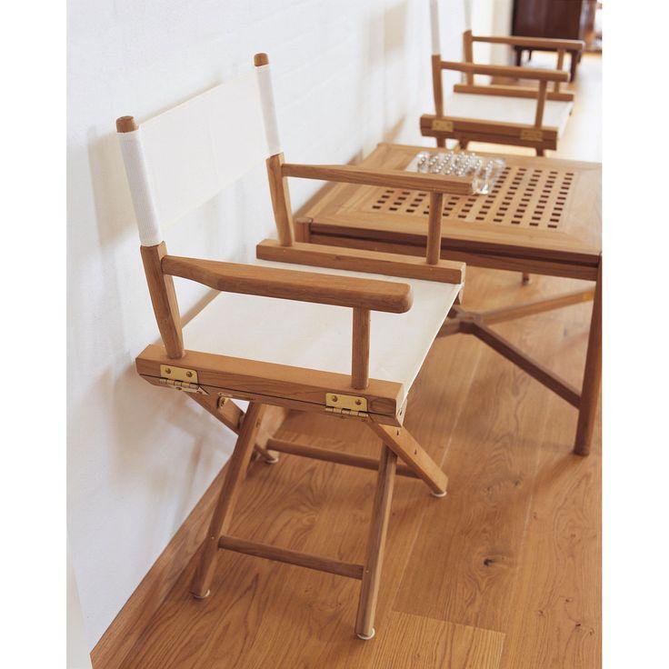 Directors Chair stol i gruppen Utemöbler / Utemöbler / Balkong hos RUM21.se (190869)