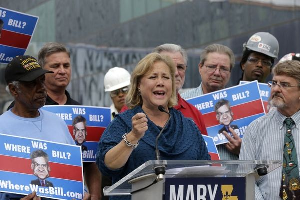 Mary Landrieu Tries to Beat the GOP by Joining Them - Yahoo News Mary, Mary, quite contrary. Are we still race bating, Mary?