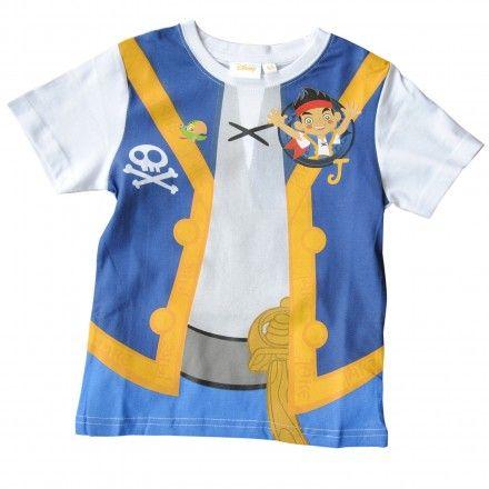 Maglia bambino Disney Jake il Pirata.