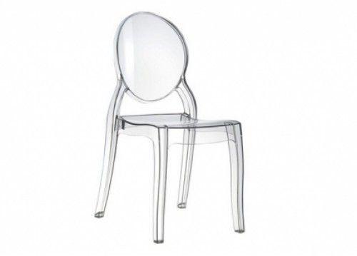 Καρέκλα ακρυλική διάφανη