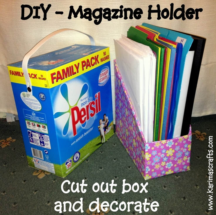 99 best images about cardboard on pinterest temporary for How to make a magazine holder from cardboard