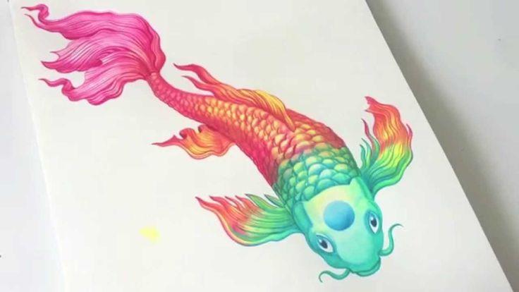 10 best images about art sanjana baijath on pinterest for Ph for koi fish