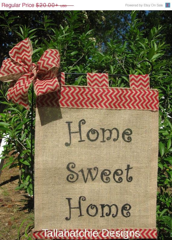 283 best Garden flags images on Pinterest Burlap garden flags