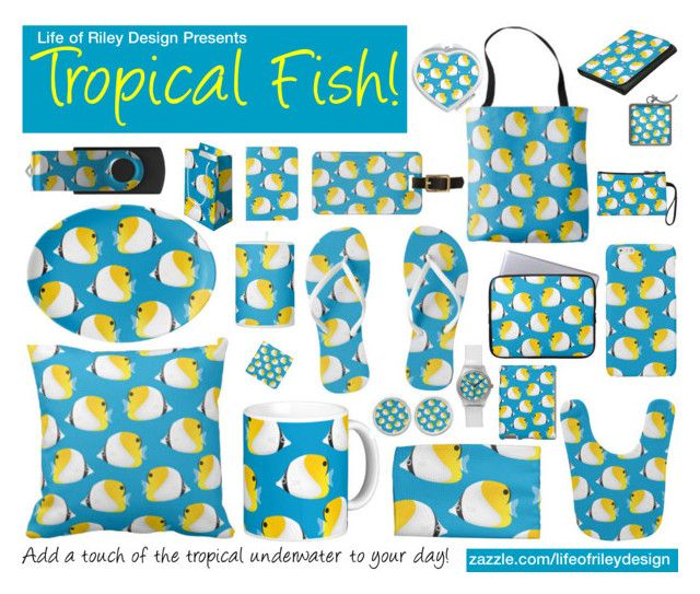 """Tropical Fish!"" by lifeofrileydesign on Polyvore"