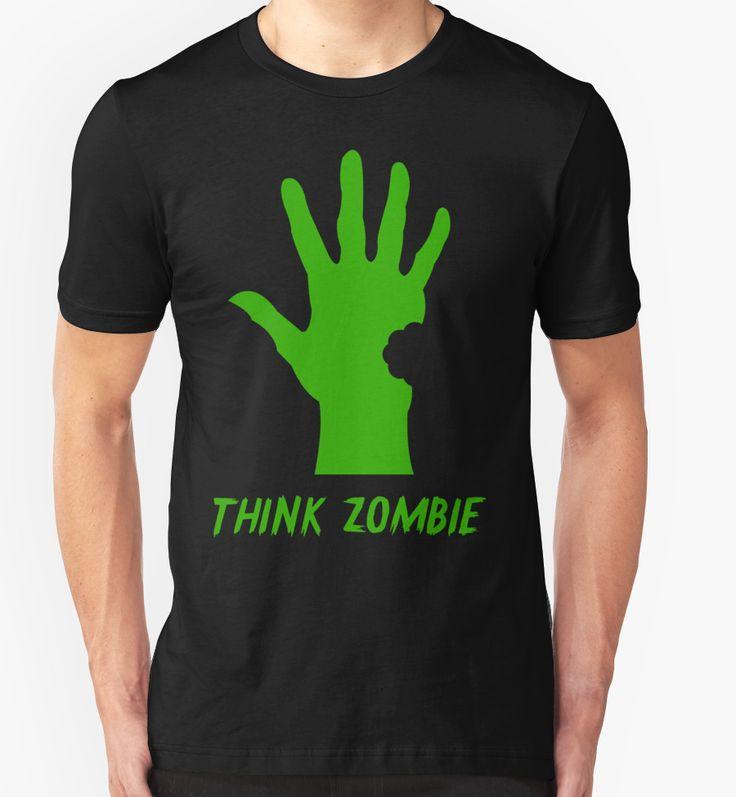 halloween zombie t shirt