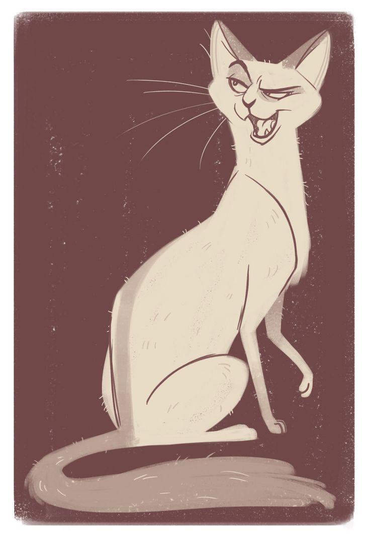 Кот фото с рисунками