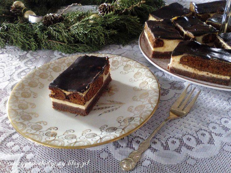 Sernik z pierniczkami w czekoladzie PRZEPIS