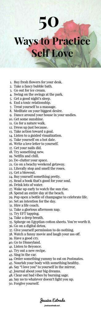 50 ways to cheer up on a bad day.