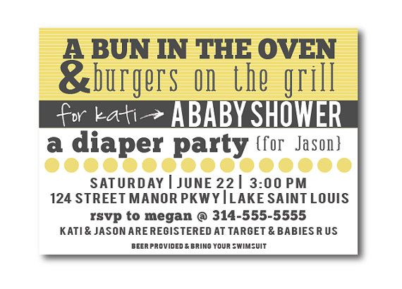 Hey, I found this really awesome Etsy listing at http://www.etsy.com/listing/151271393/couples-baby-shower-invitation-co-ed
