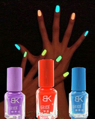 1pc The series of 20 color 7ml Fluorescent Neon Luminous gel Nail Polish for Glow in Dark Nail Varnish Nail Enamel Colorful