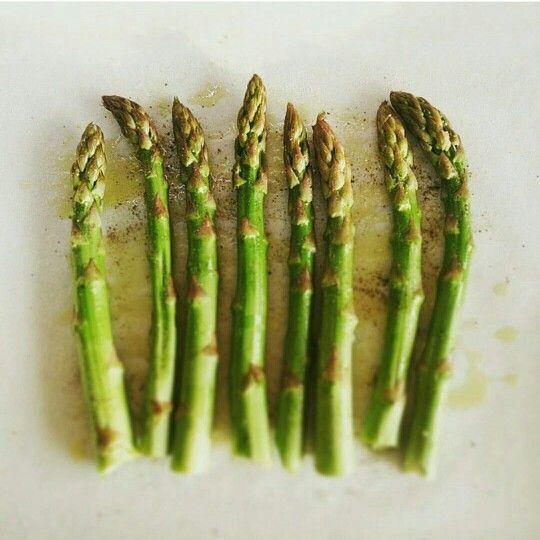 Fırında Kuşkonmaz /Asparagus