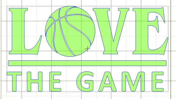 Download Lilacs & Lupines: Basketball Love the Game Free SVG File ...