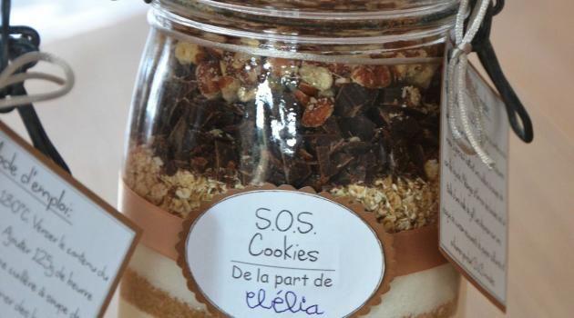 SOS Cookies - Cadeau gourmand pour la maîtresse