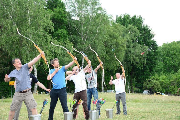 Bogenschießen mit Wurfmaschine   Bogenschießen bei Dir zu Hause   Pfeil und Bogen kaufen   Lüneburger Heide