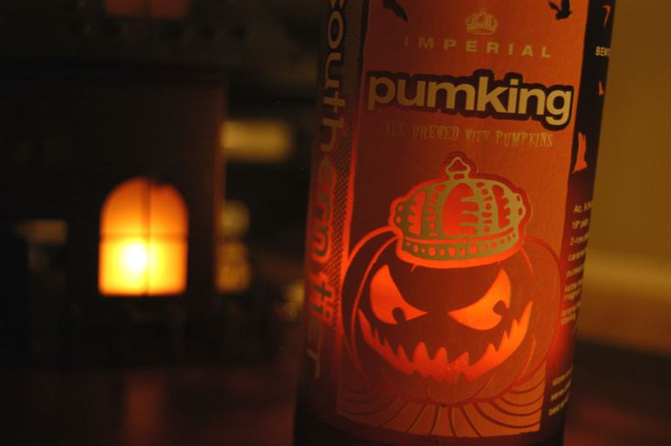 Southern Tier Pumking Ale. 9% ABV.. Tastes like a Pumpkin' cheesecake >.< ~