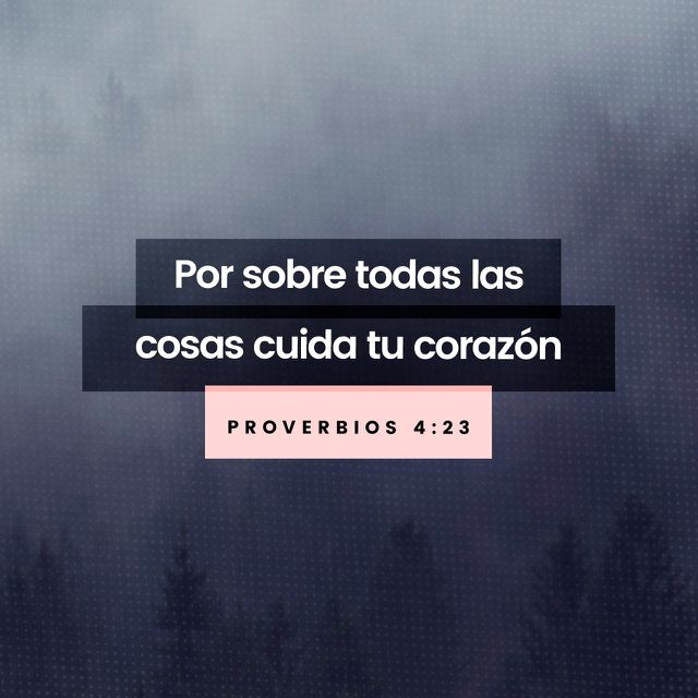 Guarda tu corazon! Dios conoce lo profundo ⚓