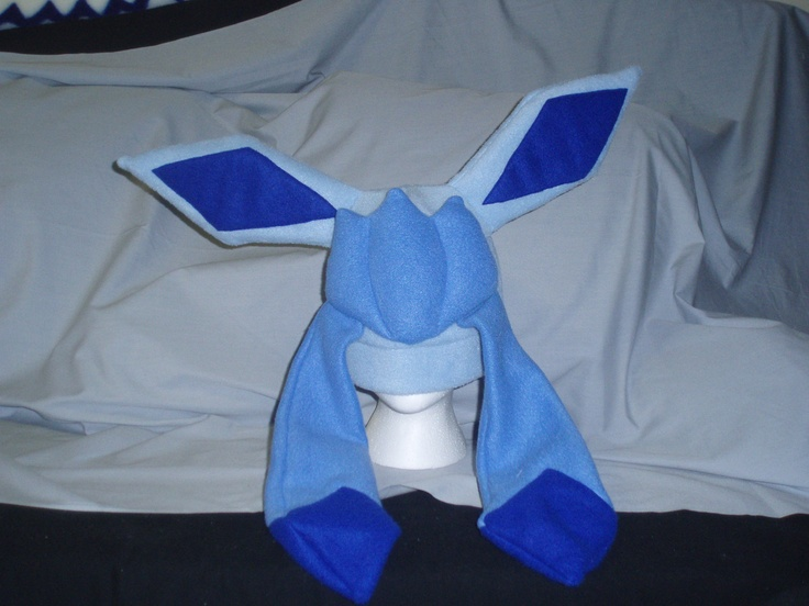glaceon fleece hat by - photo #9