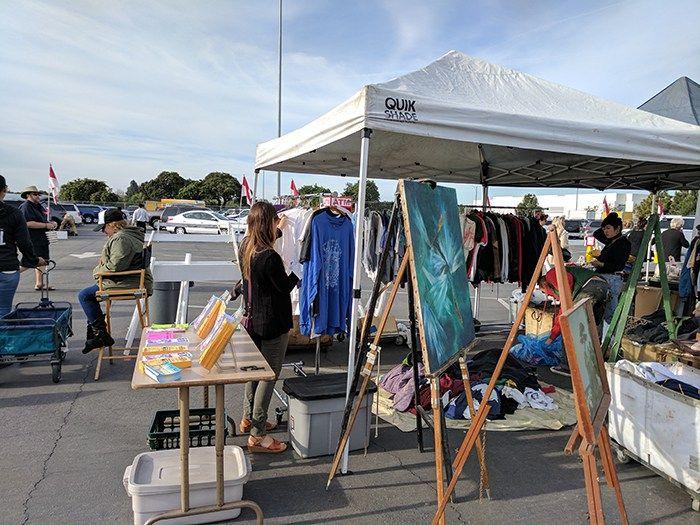 Saturday at Long Beach Flea Market