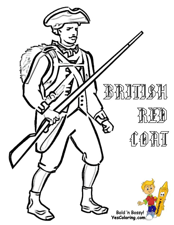 Revolutionary War Soldier Templates