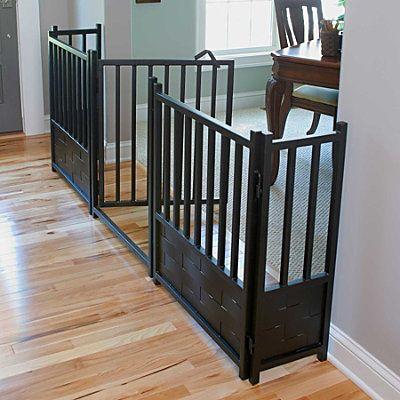 Royal Weave Freestanding Pet Gate, Door, & Side Panels - Improvements Catalog
