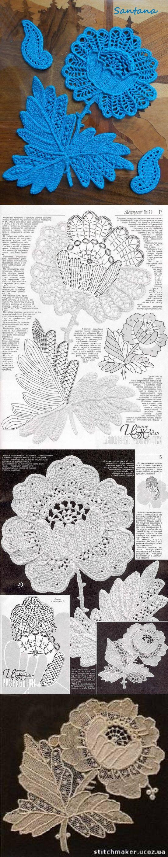 Irish Lace Crochet Afghan Pattern : 25+ best Irish Lace ideas on Pinterest Romanian lace ...