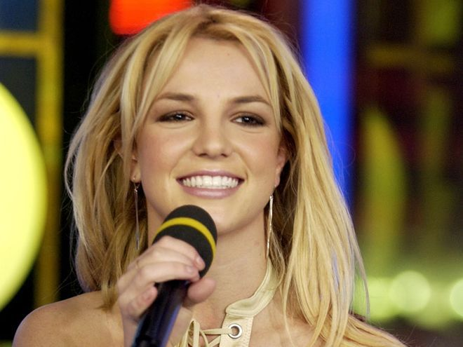 #TBT to Britney Spears at TRL in 2003
