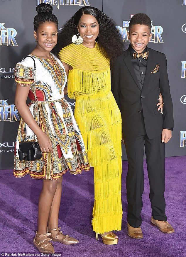 Heartbreaking: Actress Angela Bassett says she witnessed her children experience racism fr...