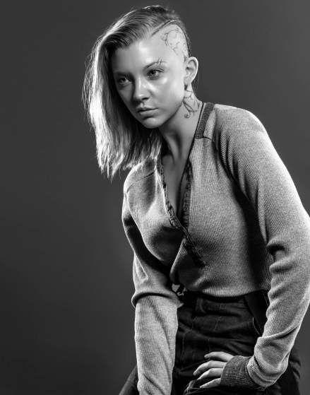 Natalie Dormer as Cressida - Mockingjay 2 portrait