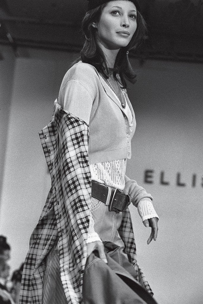 Perry Ellis Spring 1993, the grunge collection by Marc Jacobs.: