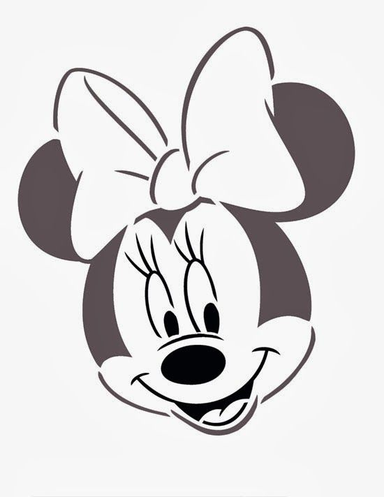 17 mejores ideas sobre Cara De Minnie Mouse en Pinterest ...