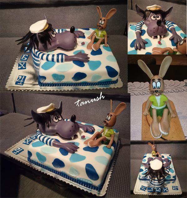 No počkaj zajac! , narodeninové torty | Tortyodmamy.sk
