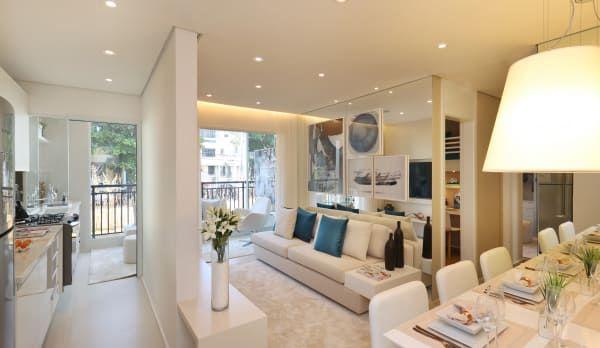 Encontre as melhores ideias e inspirações para casa. MAC_Boulevard Lapa 76m² por Chris Silveira & Arquitetos Associados | homify