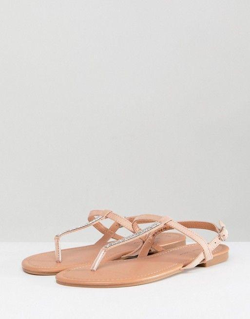 2d2d09642 New Look Bling Toe Post Flat Sandal