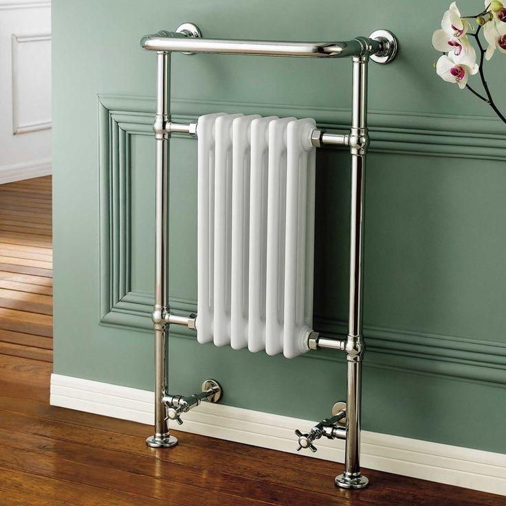 Heated Traditional Chrome Towel Rail Radiator Rad RT11