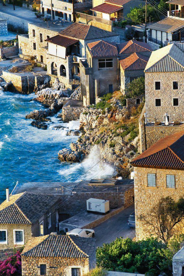 Greece Travel Inspiration - Limeni, Mani Peninsula, Greece