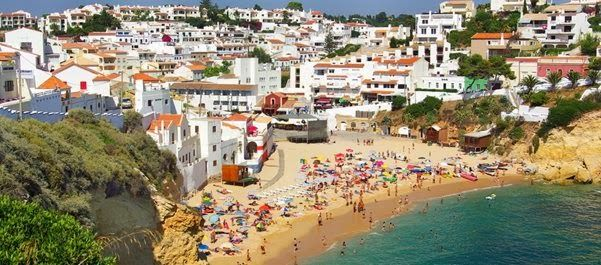 Summer Holidays in Carvoeiro, Algarve, Portugal