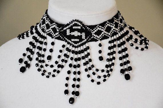 Nativos americanos estilo gargantilla collar semilla grano semilla blanca hecha a mano grano collar babero collar semilla grano joyería elegante collar de perlas