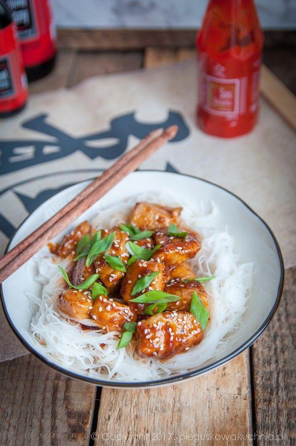 sriracha chicken #sriracha #asianfood #chicken