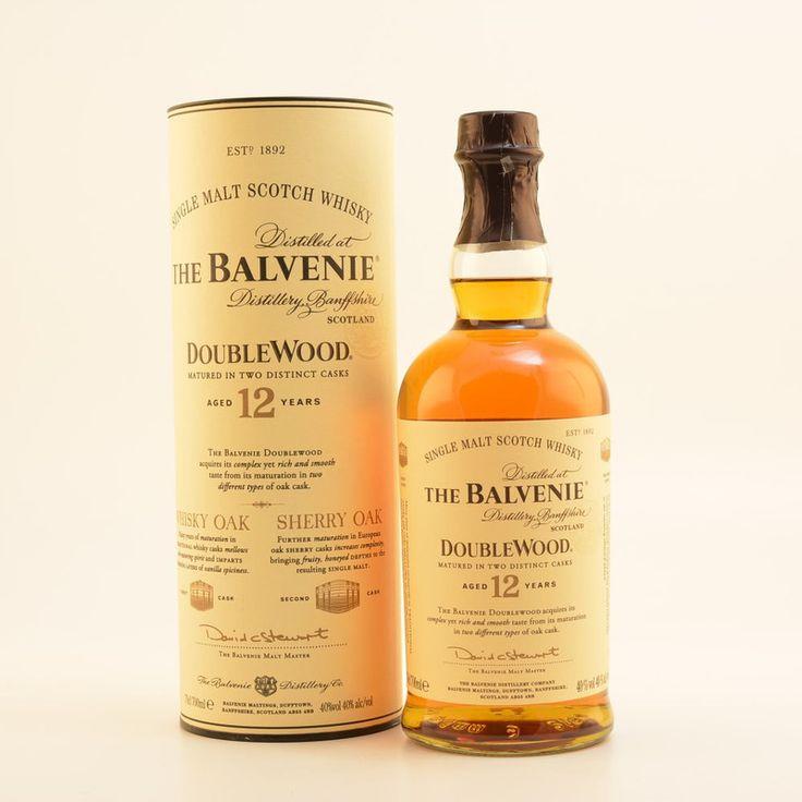 Balvenie 12 Jahre Double Wood Speyside Whisky 40% 0,7l