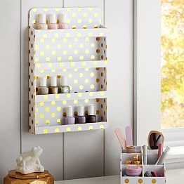 perfect for keeping nailpolish Dorm Shower Caddy & College Shower Caddy | PBteen