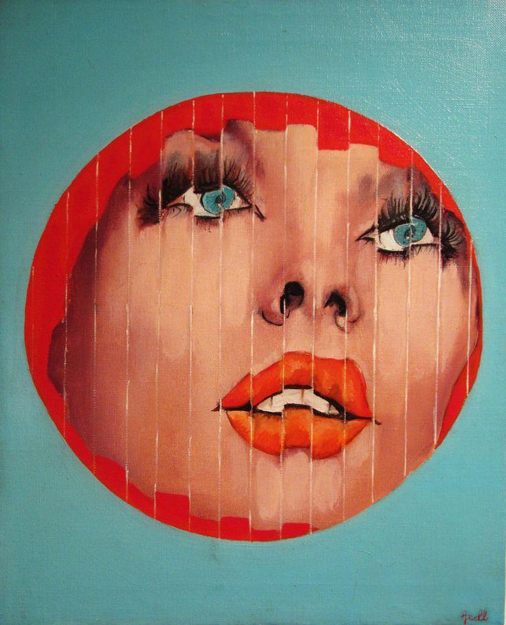 Evelyne Axell (1935-1972), Belgian Pop art painter